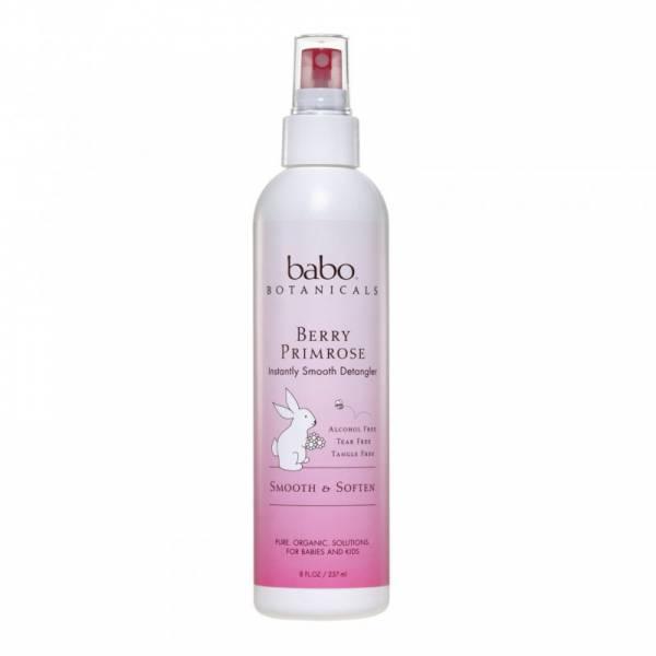 Babo Botanicals - Babo Botanicals Smooth Detangling Spray 8 oz - Berry Primrose