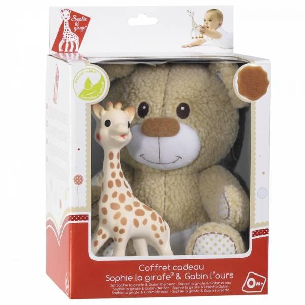 Vulli - Vulli Sophie the Giraffe & Gabin The Bear Set