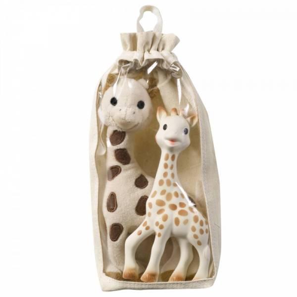 Vulli - VulliSophie the Giraffe & Giraffe Stuffed Toy Set