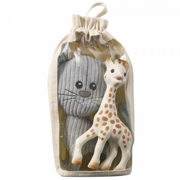 Vulli - VulliSophie the Giraffe & Lazare Stuffed Toy Set