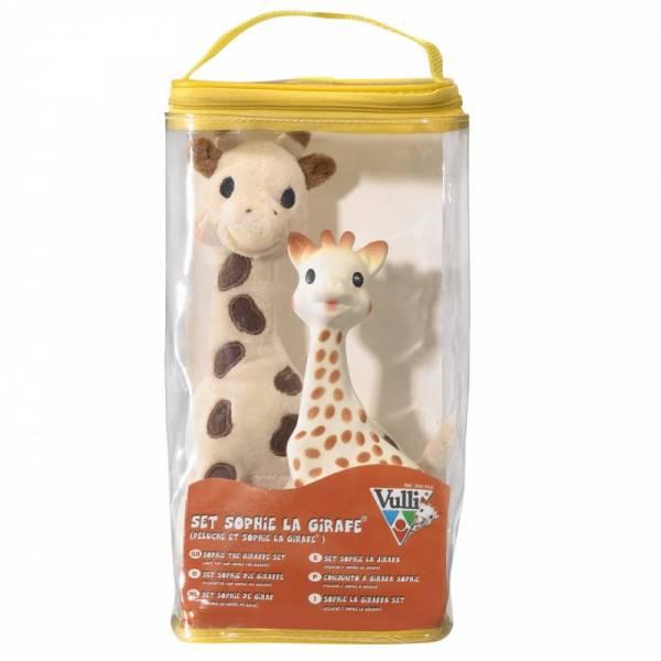 Vulli - VulliSophie the Giraffe & Plush Set