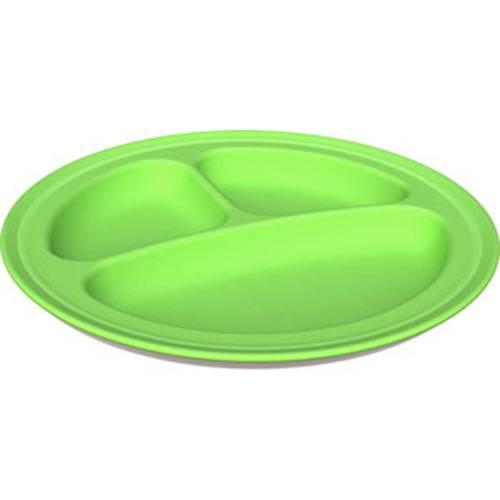 Green Eats - Green Eats Divided Plates - Green (2 Pack)