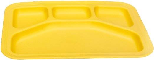 Green Eats - Green Eats Divided Tray - Yellow
