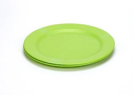 Green Eats - Green Eats Plates - Green (2 Pack)