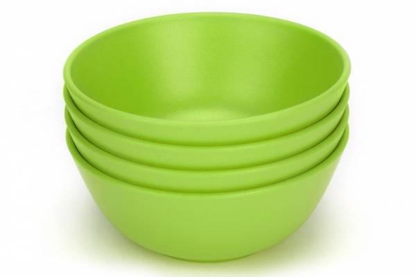 Green Eats - Green Eats Snack Bowl - Green (4 Pack)
