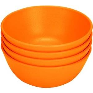 Green Eats - Green Eats Snack Bowl - Orange (4 Pack)