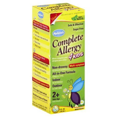 Hylands - Hylands Complete Allergy 4 Kids 4 oz