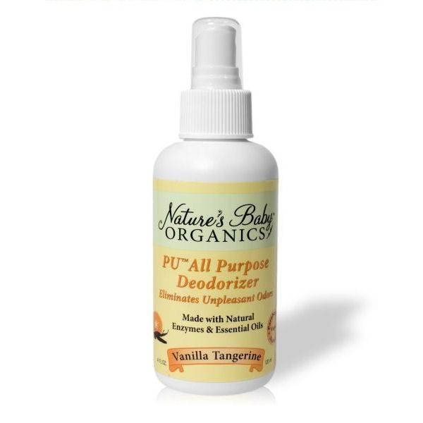 Nature's Baby Organics - Nature's Baby Organics Diaper PU Pail Deodorizer 4 oz - Vanilla Tangerine