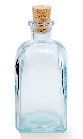 BIH Collection - BIH Collection Recycled Glass Square Bottle 250 cc