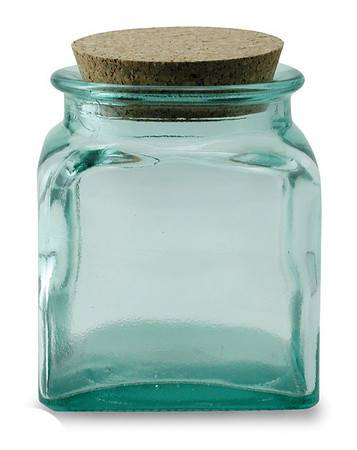 BIH Collection - BIH Collection Recycled Glass Square Jar 1000 cc