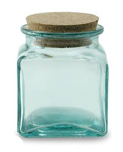 BIH Collection - BIH Collection Recycled Glass Square Jar 500 cc