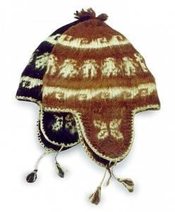 BIH Collection - BIH Collection Alpaca Wool Earflap Hat