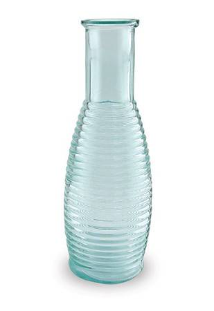 BIH Collection - BIH Collection Recycled Glass Rings Carafe 1 Quart