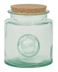 BIH Collection - BIH Collection Recycled Glass Authentic Round Jar 50 oz