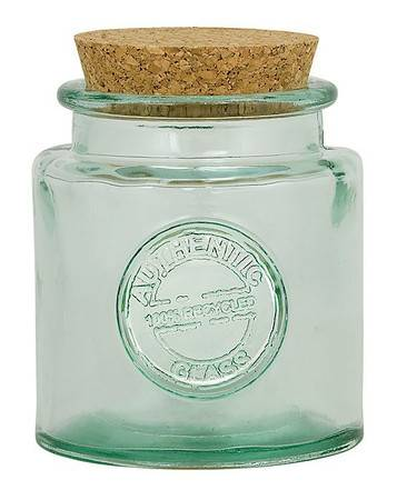 BIH Collection - BIH Collection Recycled Glass Authentic Round Jar 16 oz