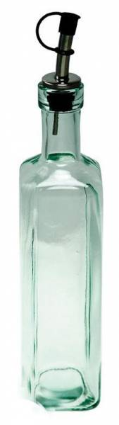 BIH Collection - BIH Collection Recycled Glass Square Bottle with Pourer 13 oz