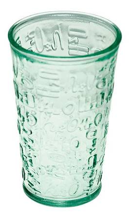 BIH Collection - BIH Collection Recycled Glass H2O Drinking Glass 10 oz