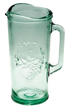BIH Collection - BIH Collection Recycled Glass Juice Time Pitcher 1.5 Liter
