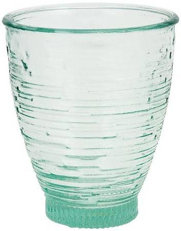 BIH Collection - BIH Collection Recycled Glass Modern Ring Glass 12 oz