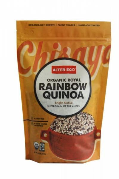 Alter Eco - Alter Eco Alter Eco Fair Trade Rainbow Quinoa 14 oz (4 Pack)