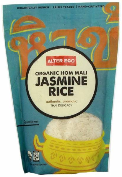 Alter Eco - Alter Eco Alter Eco Thai White Jasmine Rice 16 oz (4 Pack)