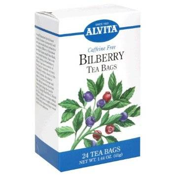 Alvita Teas - Alvita Teas Bilberry Tea (24 Bags)