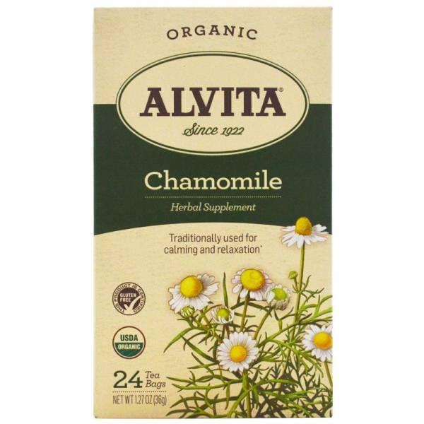 Alvita Teas - Alvita Teas Chamomile Tea Organic (24 Bags)
