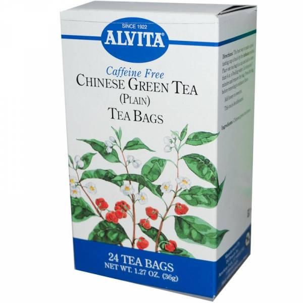 Alvita Teas - Alvita Teas Chinese Green Tea Caffeine Free (24 Bags)