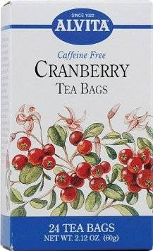Alvita Teas - Alvita Teas Cranberry Tea (24 Bags)