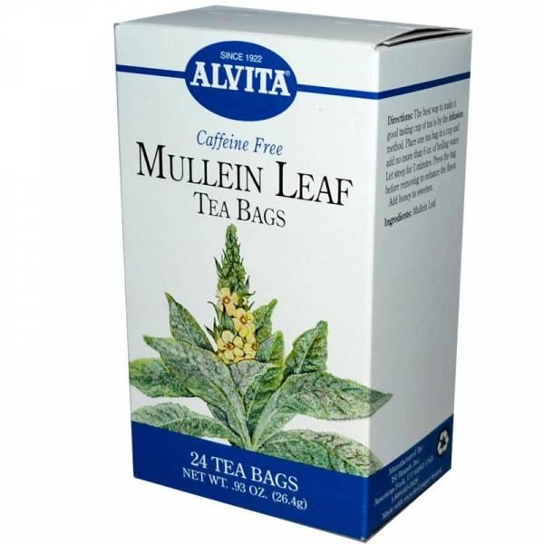 Alvita Teas - Alvita Teas Mullein Leaf Tea (24 Bags)