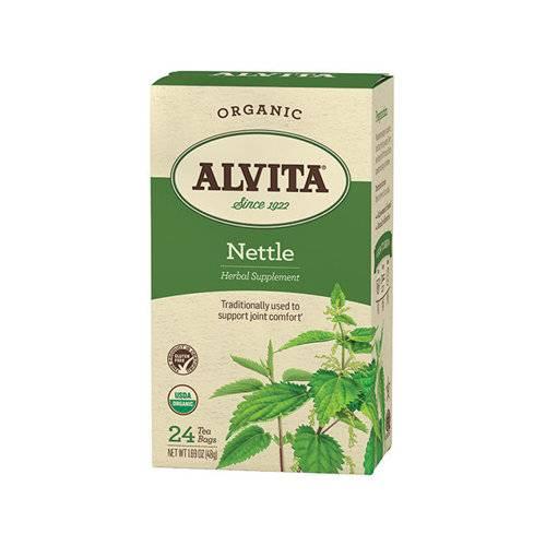 Alvita Teas - Alvita Teas Nettle Leaf Tea Organic 24 Bags