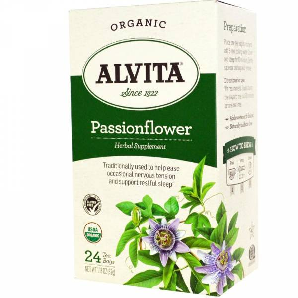 Alvita Teas - Alvita Teas Passion Flower Tea Organic 24 Bags