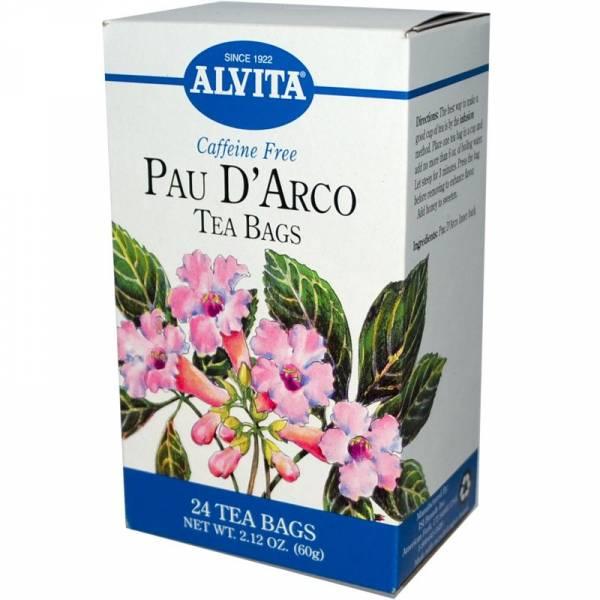 Alvita Teas - Alvita Teas Pau D'Arco Tea (24 Bags)