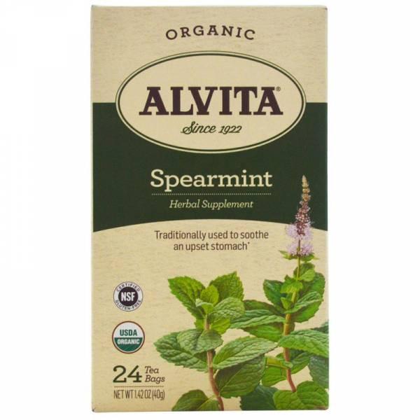 Alvita Teas - Alvita Teas Peppermint Leaf Tea Organic (24 Bags)