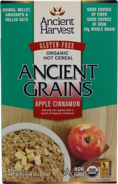 Ancient Harvest - Ancient Harvest Apple Cinnamon Hot Cereal 10.58 oz (6 Pack)