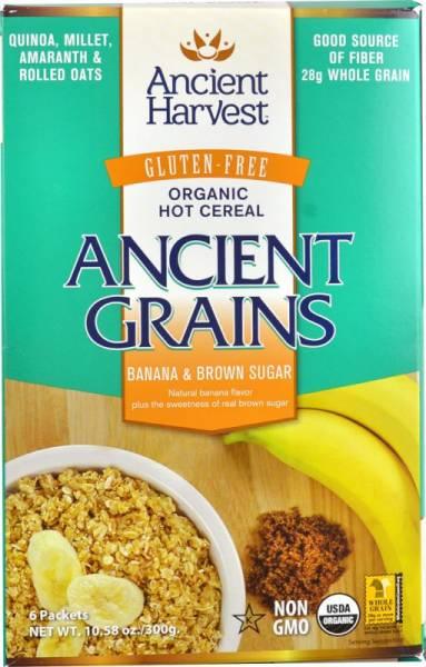 Ancient Harvest - Ancient Harvest Banana & Brown Sugar Hot Cereal 10.58 oz (6 Pack)