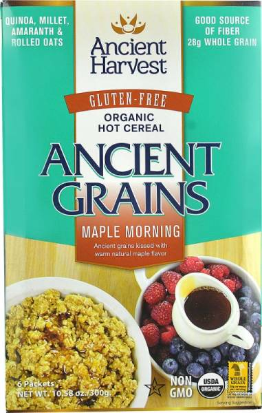 Ancient Harvest - Ancient Harvest Maple Morning Hot Cereal 10.58 (6 Pack)