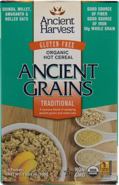 Ancient Harvest - Ancient Harvest Traditional Hot Cereal 10.58 oz (6 Pack)