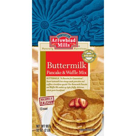 Arrowhead Mills - Arrowhead Mills Buttermilk Pancake & Waffle Mix 26 oz