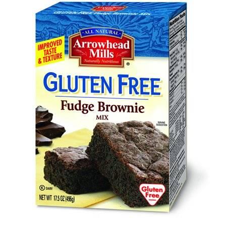 Arrowhead Mills - Arrowhead Mills Gluten Free Fudge Brownie Mix 17.5 oz