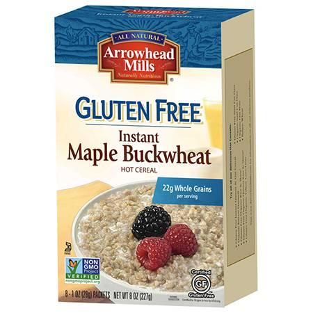 Arrowhead Mills - Arrowhead Mills Gluten Free Instant Maple Buckwheat Hot Cereal 8 oz