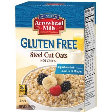 Arrowhead Mills - Arrowhead Mills Gluten Free Steel Cut Oats Hot Cereal 24 oz