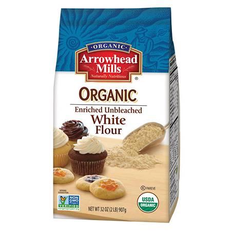 Arrowhead Mills - Arrowhead Mills Organic Enriched Unbleached White Flour 32 oz