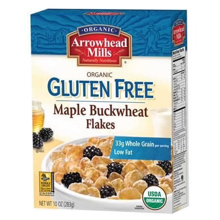 Arrowhead Mills - Arrowhead Mills Organic Gluten Free Maple Buckwheat Flakes 10 oz