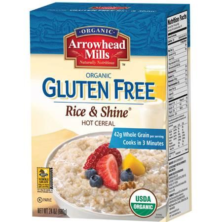 Arrowhead Mills - Arrowhead Mills Organic Gluten Free Rice and Shine Hot Cereal 24 oz