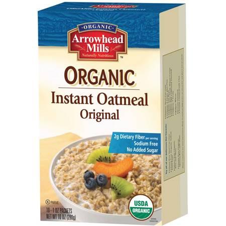 Arrowhead Mills - Arrowhead Mills Organic Instant Oatmeal Original 10 oz
