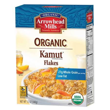 Arrowhead Mills - Arrowhead Mills Organic Kamut Flakes Cereal 12 oz