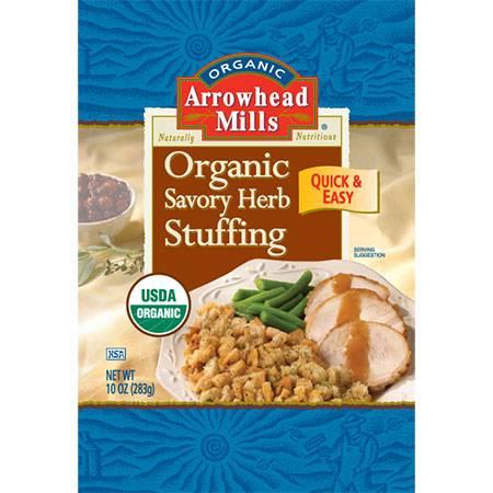 Arrowhead Mills - Arrowhead Mills Organic Savory Herb Stuffing Mix 10 oz