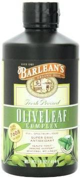 Barleans - Barleans Olive Leaf Complex Natural Flavor 16 oz