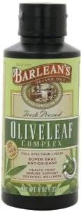 Barleans - Barleans Olive Leaf Complex Natural Flavor 8 oz